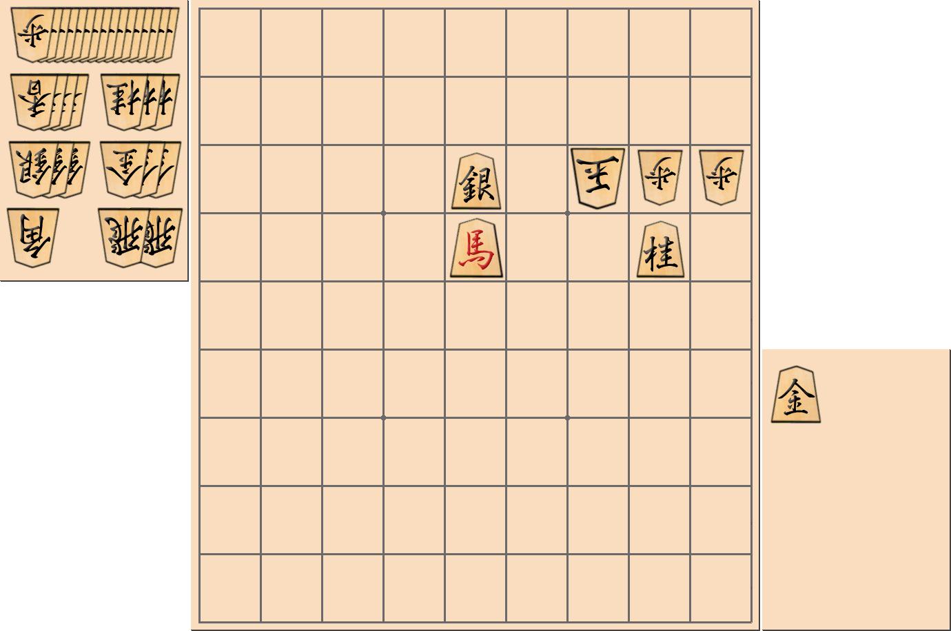 詰将棋:3手詰の問題と解答・解説【第14問】